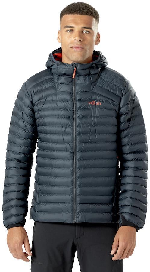 Rab Cirrus Alpine Hooded Insulated Jacket, M Beluga