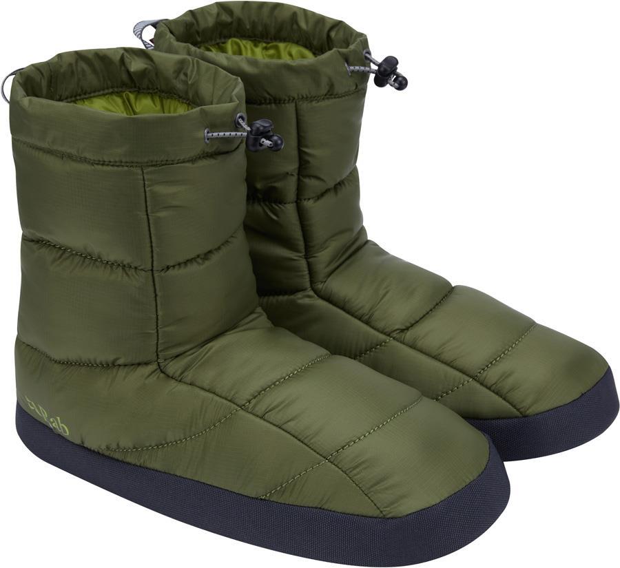 Rab Cirrus Hut Insulated Boot Slippers, UK 9-10 Chlorite Green