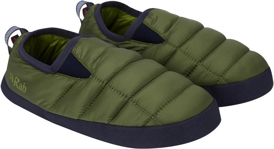 Rab Cirrus Hut Insulated Camping Slippers, UK 10+ Chlorite Green