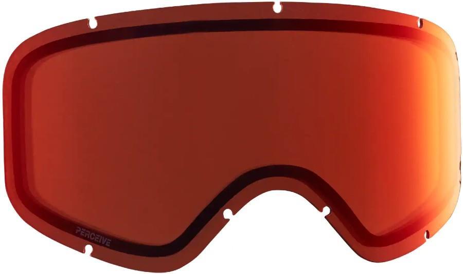 Anon Insight Ski/Snowboard Goggle Spare Lens, Perceive Cloudy Burst