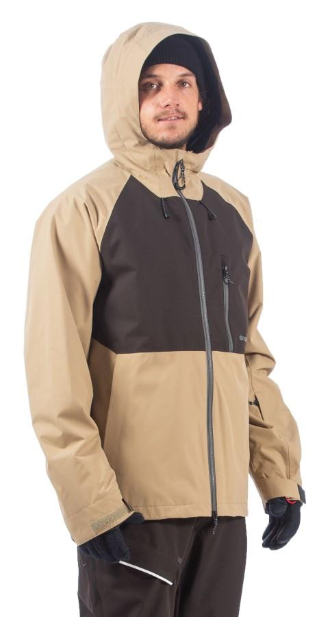 Bonfire Pyre Shell Ski/Snowboard Jacket, XL Desert