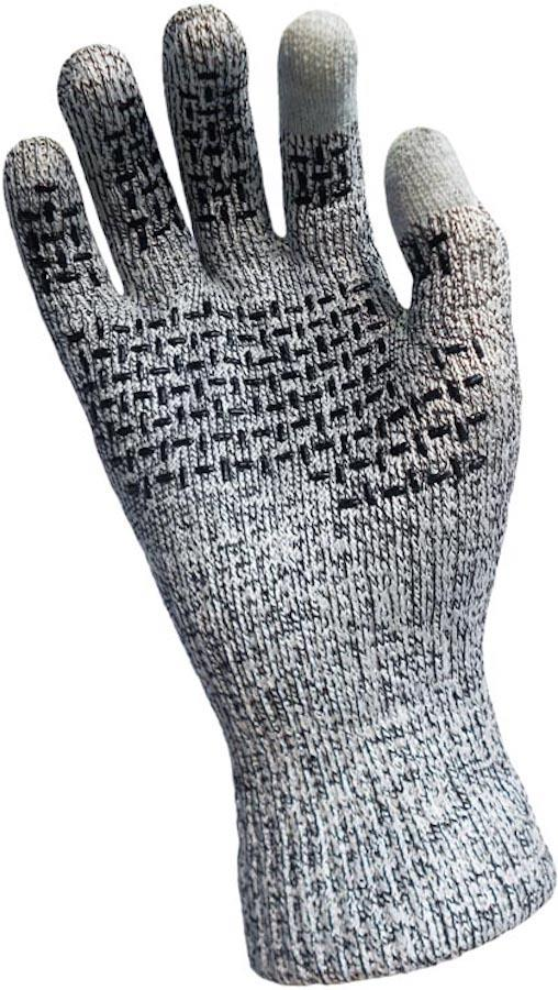 DexShell Techshield Waterproof Touchscreen Gloves, Small Grey