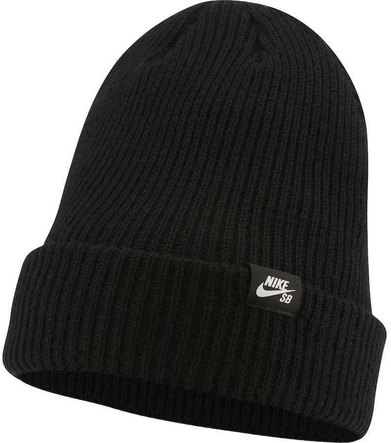 Nike SB Fisherman Cuffed Beanie Hat, Black