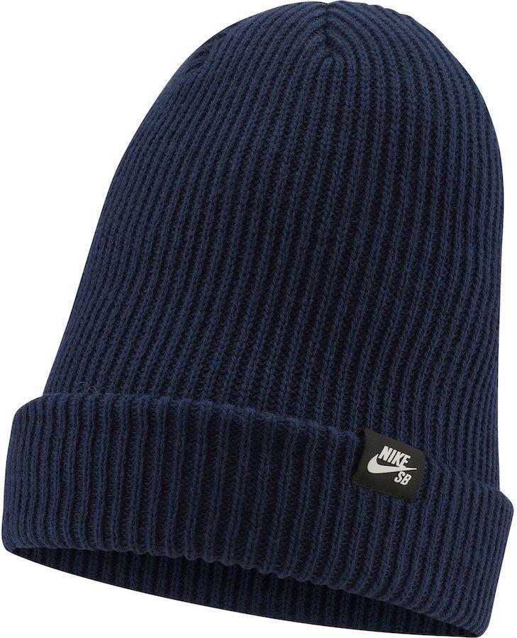 Nike SB Fisherman Cuffed Beanie Hat, Midnight