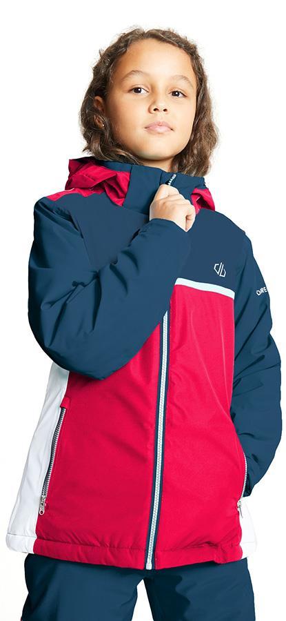 Dare 2b Depend Kid's Snowboard/Ski Jacket, Age 7-8 Denim/Pink