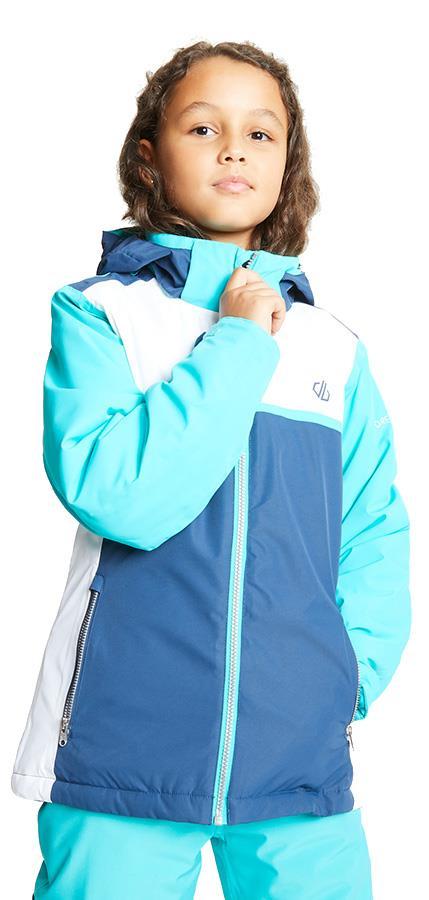 Dare 2b Depend Kid's Snowboard/Ski Jacket, Age 7-8 Blue/Denim