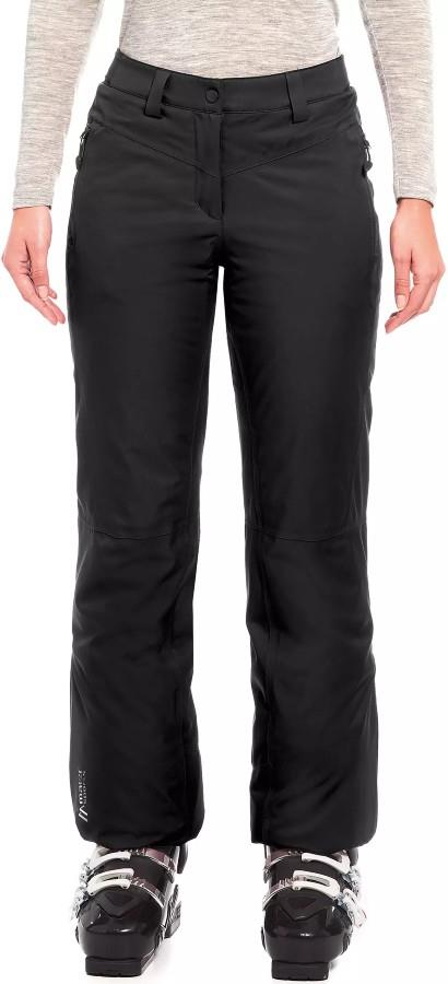Maier Sports Ronka Regular Women's Snowboard/Ski Pants, UK 12 Black