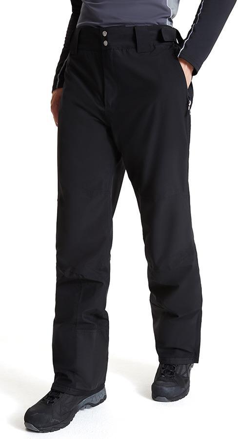 Dare 2b Achieve II Snowboard/Ski Soft Shell Pants, L Black