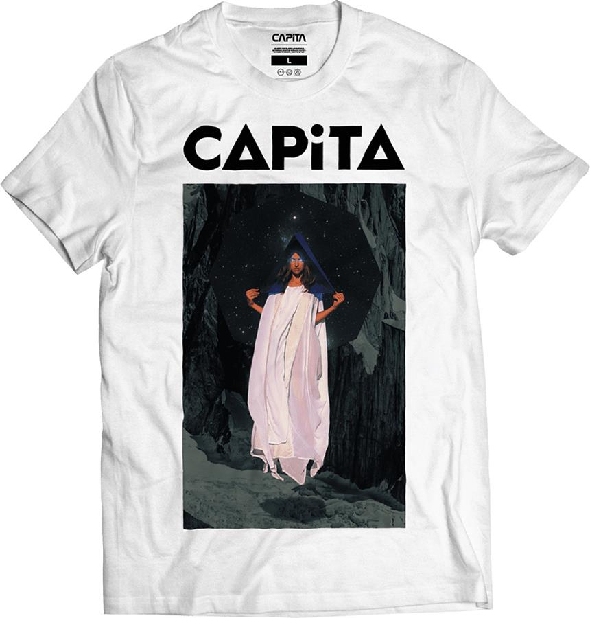 Capita D.O.A Cotton Short Sleeve T-Shirt, S White
