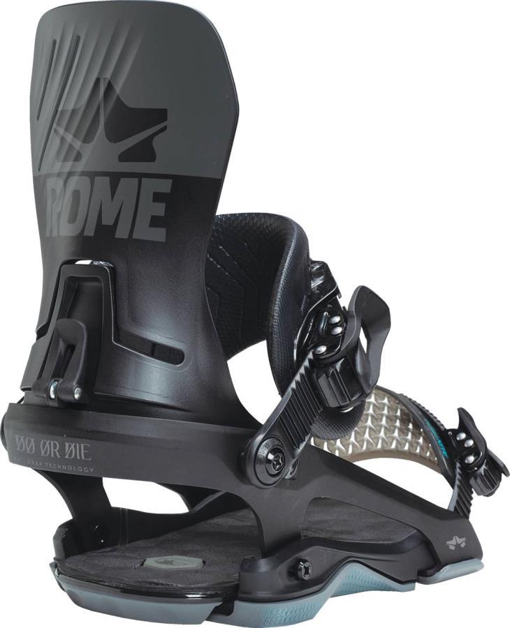 Rome DOD Snowboard Bindings, M/L Black 2021