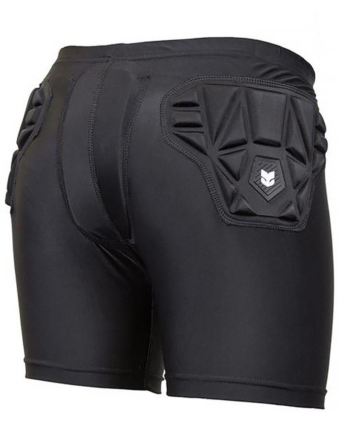 Demon Skinn Compression Womens Ski/Snowboard Impact Shorts, L Black