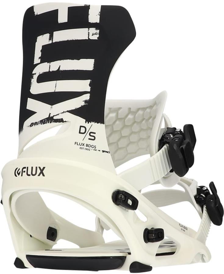 Flux DS Snowboard Bindings, L Black/White 2022