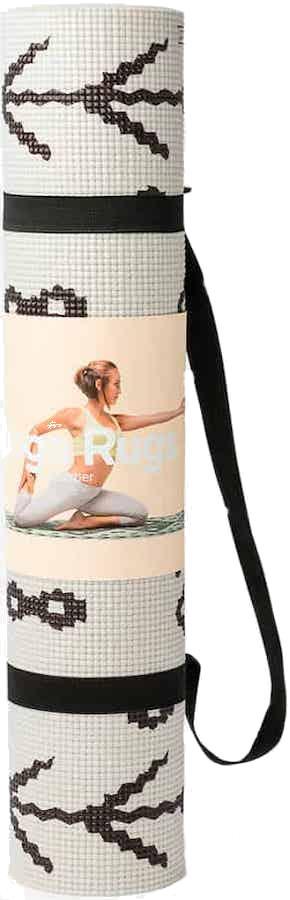 DOIY Printed Yoga/Pilates Mat, 173 x 60 cm Berber