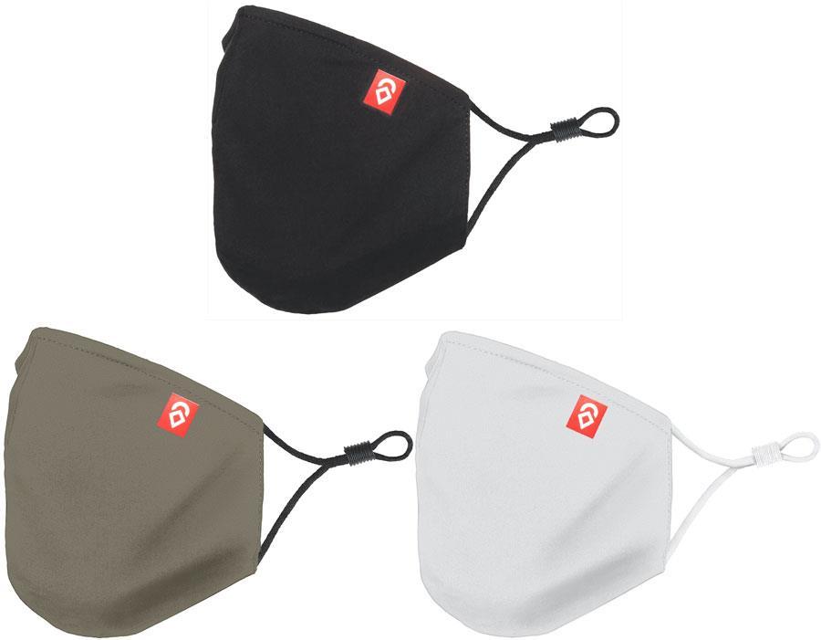 Airhole Adult Unisex Ergonomic 3 Pack Protective Reusable Face Mask, One Size Desert