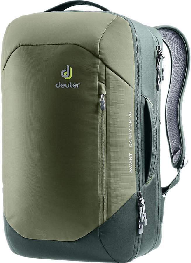 Deuter Aviant Carry On 28 Travel Backpack, 28L Khaki/Ivy