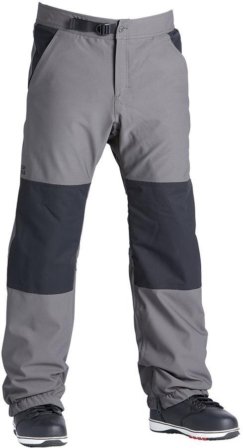Airblaster Elastic Boss Ski/Snowboard Pants, L Pewter