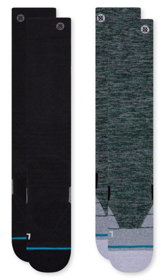 Stance Snow Performance Blend Ski/Snowboard Socks S Essential 2 Pack