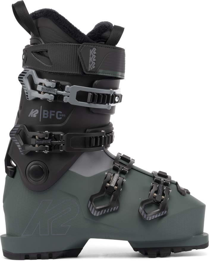 K2 BFC W 85 Gripwalk Women's Ski Boot, 25.0/25.5 Black/Grey 2022