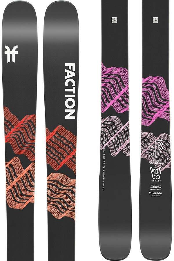 Faction Prodigy 2.0 Ski Only Skis, 165cm Black 2022