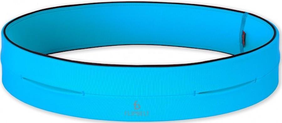 FlipBelt Classic Exercise & Running Belt, L Aqua