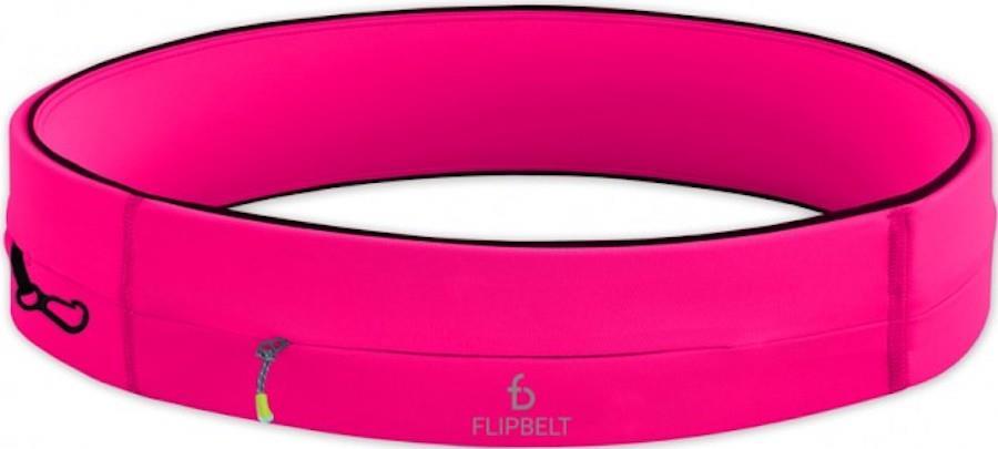 FlipBelt Zipper Exercise & Running Belt, XS Pink