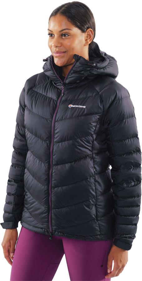 Montane Cloudmaker Women's Down Insulated Jacket, UK 14 Black