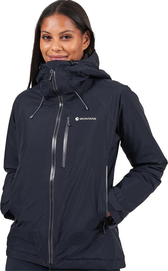 Montane Duality Women's Insulated Waterproof Jacket, UK 10 Black