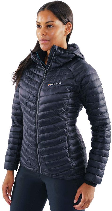 Montane Flylite Down Women's Insulated Hiking Jacket M / UK 12 Black