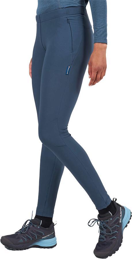 Montane Ineo Pro Regular Women's Active Leggings, UK 8 Astro Blue