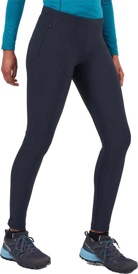 Montane Ineo Pro Pants Regular Women's Active Leggings, UK 14, Black