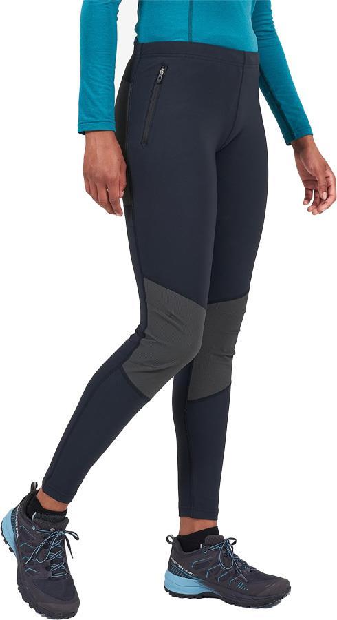 Montane Ineo Tough Regular Women's Active Leggings, UK 12 Black