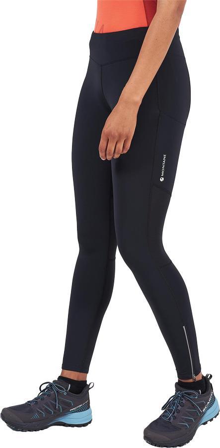 Montane Katla Long Trail Tights Women's Running Leggings, UK 10 Black