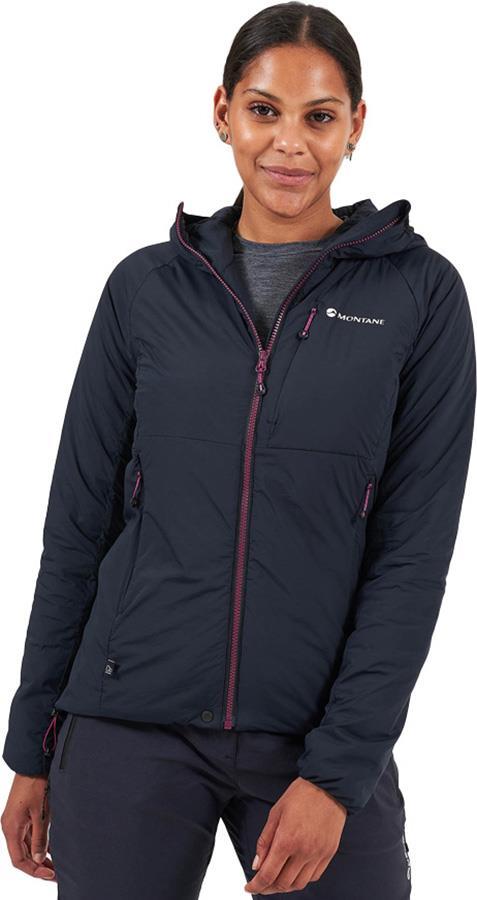 Montane Fireball Women's Synthetic Insulated Jacket, UK 10 Black