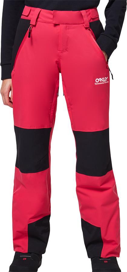 Oakley TNP Insulated Women's Snowboard/Ski Pants, M Rubine Red