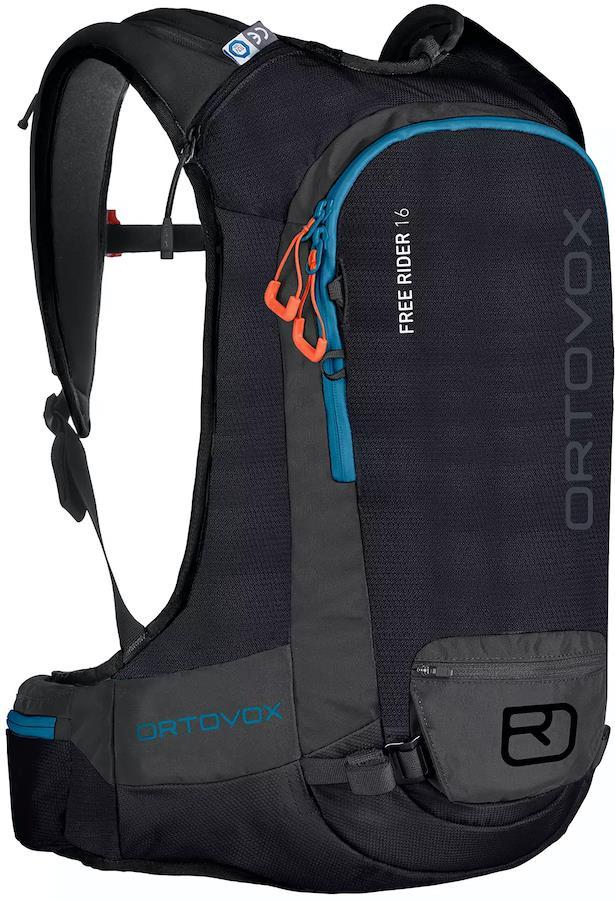 Ortovox Free Rider Ski/Snowboard Backpack, 16L Black Raven