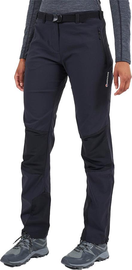 Montane Terra Ridge Short Women's Stretch Hiking Pants UK 12 Black