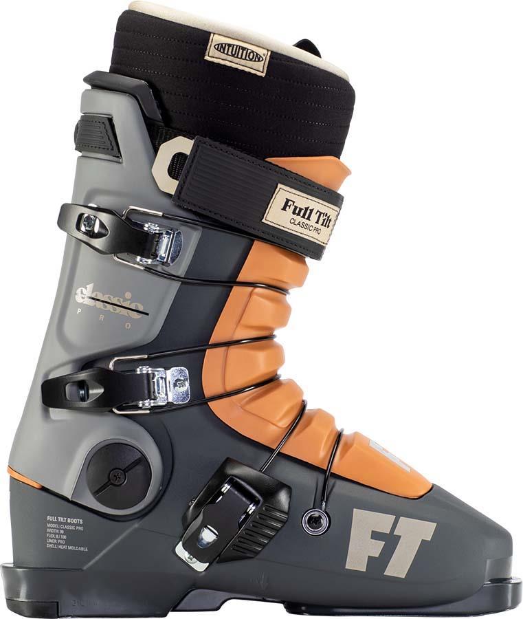 Full Tilt Classic Pro Ski Boots, 27/27.5 Orange/Grey 2022