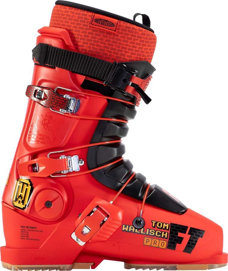 Full Tilt Tom Wallisch Pro LTC Ski Boots, 28/28.5 Red/Black