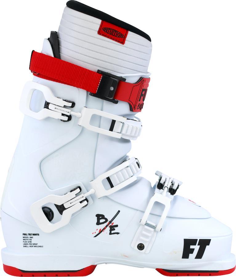 Full Tilt B&E Pro Ski Boots, 26/26.5 White/Red 2022