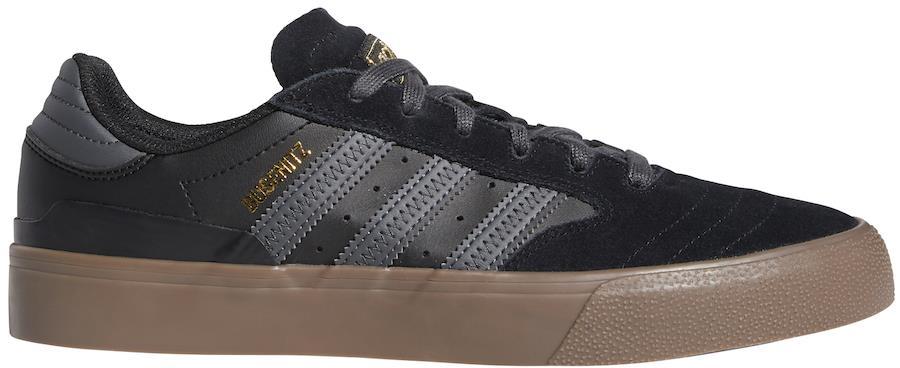 Adidas Busenitz Vulc II Trainers/Skate Shoes, UK 7.5 Core Black/Gum 5