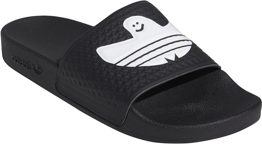 Adidas Shmoofoil Slide Men's Flip Flops, UK 8 Core Black