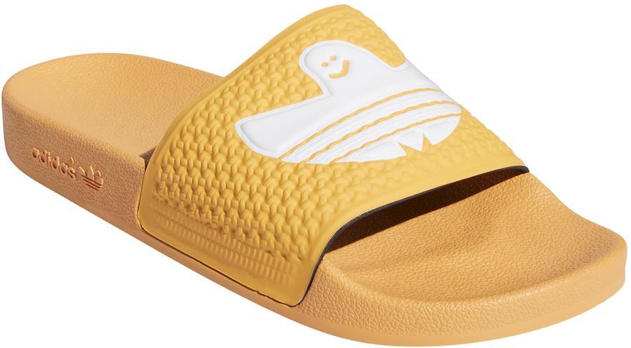 Adidas Shmoofoil Slide Men's Flip Flops, UK 9 Hazy Orange