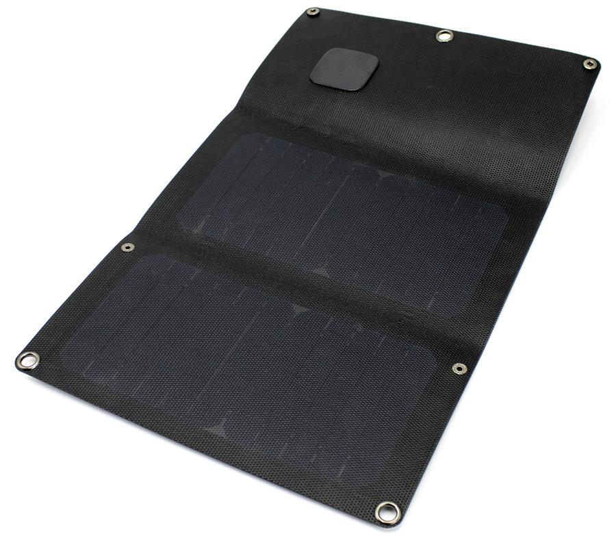 PowerTraveller Falcon 12E Lightweight Folding Solar Panel, 12W