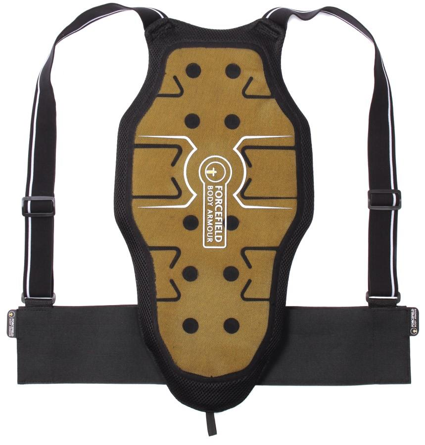 Forcefield Freelite L2 Back Protector, M Black/Yellow