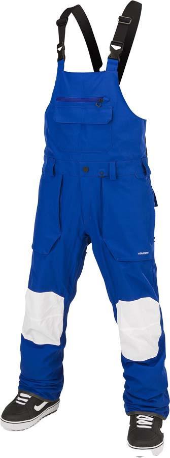 Volcom Adult Unisex Roan Bib Overall Snowboard/Ski Pants, Xl Bright Blue