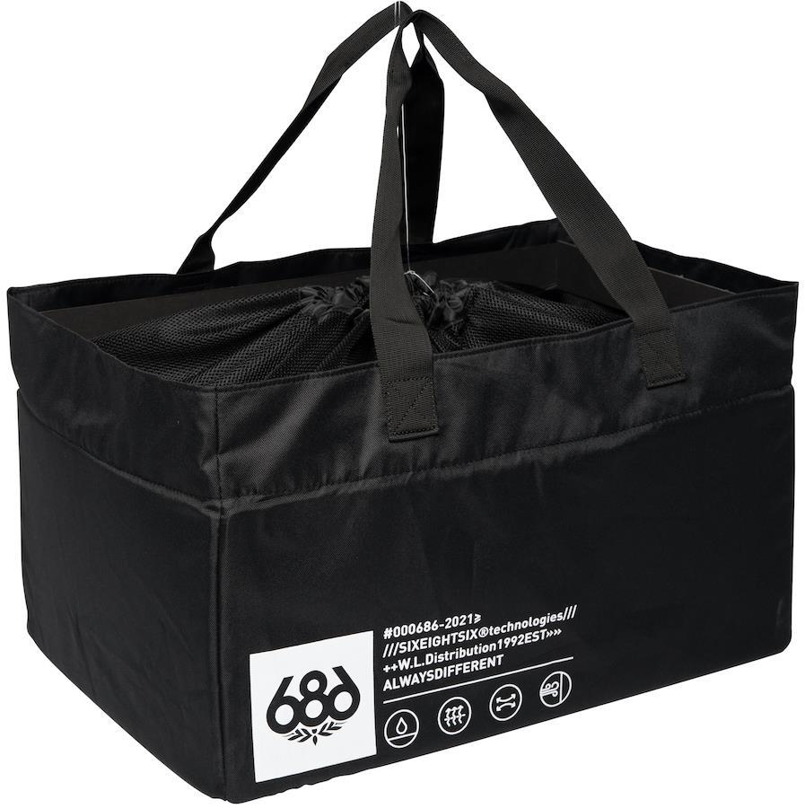 686 Storage Gear Bag Laundry Sack/Travel Organiser, OS Black