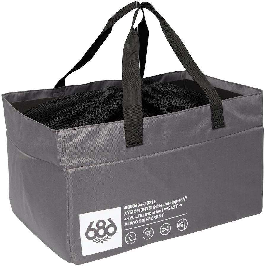 686 Storage Gear Bag Laundry Sack/Travel Organiser, OS Charcoal