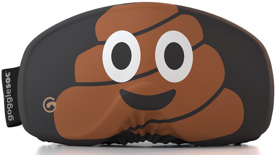 Gogglesoc Faces Snowboard/Ski Lens Cover, Poop Soc