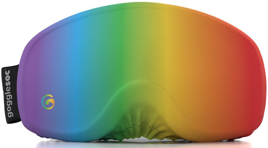 Gogglesoc Homeslice Snowboard/Ski Lens Cover, Pride Soc