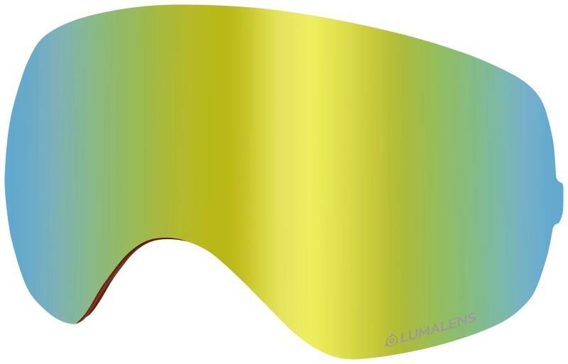 Dragon X2s Snowboard/Ski Goggle Spare Lens, OS LumaLens Gold Ion